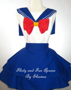 The Myopic Squid: Favourite Things Friday #7  Sailor Moon Apron via Flirty and Fun Aprons by Shawna