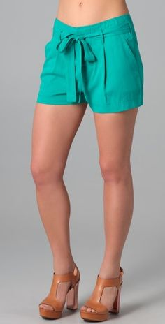 Turquoise shorts by Robert Rodriguez