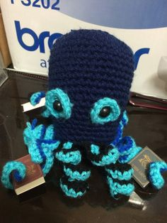 Amigurumi: Octopus By Mes Crazy Experiences