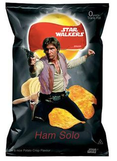 """""""Star Wars"""" Crisps Don't Exist, But If They Did..."""