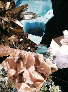 Nicole Wermers  Katzensilber III  2004  collaged magazines