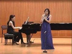 장여송 Clarinet Kumho Ernest Chausson Andante et Allegro - YouTube