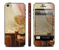 Виниловая наклейка для iPhone 5 Window (Окно) купить в интернет-магазине BeautyApple.ru.