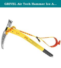 GRIVEL Air Tech Hammer Ice Axe w/ Leash Black 53. Building on the success of the Wing series, the Air Tech Evo alpine axe from Grivel is ideal for high mountain missions.