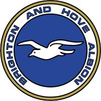 Brighton & Hove Albion Football Club crest/badge 1977-1998 (the club first became known as 'The Seagulls' in 1977 and this is included in the design) #bhafc