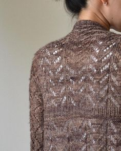 Hitofude Cardigan knitting pattern by Hiroko Fukatsu - Available at LoveKnitting