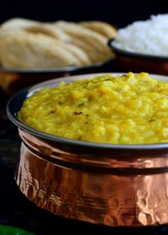 This easy vegan dal recipe only takes 10 minutes of prep time and is great for a quick weeknight dinner. Serve with flat bread and rice.