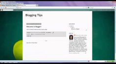 Blogger Tutorial 2: Simple Ways to Personalize Blogger