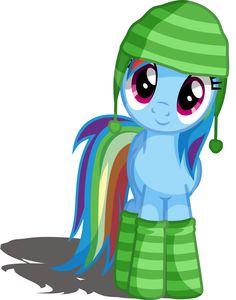Cozy Rainbow Dash