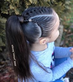 braided hairstyles hairstyles long hairstyles directions hairstyles pigtails hairstyles long bun hairstyles african american hairstyles round face hairstyles how to do Lil Girl Hairstyles, Princess Hairstyles, Kids Braided Hairstyles, Curly Hair Styles, Natural Hair Styles, Curly Girls, Girl Hair Dos, Box Braids Styling, Long Hairstyles