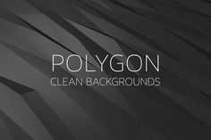 Check out Polygon Backgrounds Dark by Digital ART on Creative Market