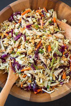 Asian Ramen Chicken Chopped Salad (via Bloglovin.com )