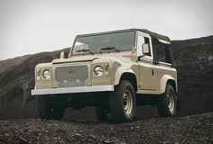 Land Rover D90 Heritage | The talented team from Cool & Vintage are back again with this new mind-blowing restoration.