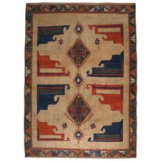 Vintage Turkish Anatolian Rug | From a unique collection of antique and modern turkish rugs at https://www.1stdibs.com/furniture/rugs-carpets/turkish-rugs/