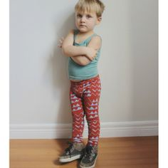 Mountain Leggings by Thief & Bandit   at Darling Clementine
