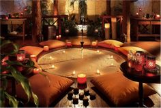 meditation room... Beautiful... Also as a massage and crystal healing room xx