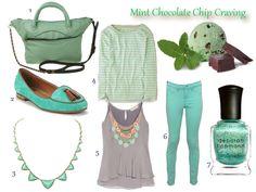 Mint Chocolate Chip fashion craving