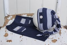 Newborn photo prop,Baby boy clothes,Blue photo prop,Knot hat,Baby boy pants,Going home outfit,Photography prop,Newborn prop,Infant clothes - pinned by pin4etsy.com