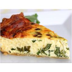 Ricotta and Arugula Quiche Ingredients  1 Pillsbury® refrigerated pie crust (from 15-oz box), softened as directed on box 5 eggs 1 cup half-and-half 1 cup whole-milk ricotta cheese Salt and fresh ground black pepper to taste 1 cup coarsely chopped fresh arugula (or baby spinach) 2 cups shredded Italian cheese blend or mozzarella cheese (8 oz) Directions  Heat oven to 375°F. Make pie crust as directed on box for One-Crust Baked Shell using 9-inch glass pie plate. Bake about 8 minutes or until…