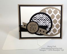 Happy Happenings Fathers Day Card Stampin Up Mary Fish Stamping Pretty envelope punch board Mary Fish, Images Of Mary, Stampin Pretty, Envelope Punch Board, Pretty Cards, Masculine Cards, Simple Art, Happenings, Homemade Cards