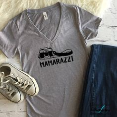 Mamarazzi shirt  Photographer shirt  Mom shirt  Fun mom