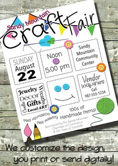 Let DitDitDigital customize an invitation/flyer for your next event! You print the personalized design, post it to social media, or send it as an e-vite. 1. Purchase a design in the shop or convo me regarding a new design.  2. Choose the size that best fits your needs:   ~ 5x7 Invitation  ~ 8.5x11 Flyer  ~ 11x14 Poster  3. If the template doesnt quite fit, purchase extra services (i.e. color change, graphics change, and/or extra text).  4. Checkout. To customize the design for you, please…