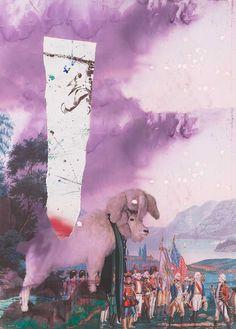 """Ausstellungstip: Julian Schnabel - """"PALIMPSEST. PRINTED WORKS"""", 14.06.2016 bis 14.08.2016, Ludwig Museum im Deutschherrenhaus, Koblenz. Abbildung: Julian Schnabel - """"Childhood Teil 2"""", 2015, 90x130, © Julian Schnabel."""