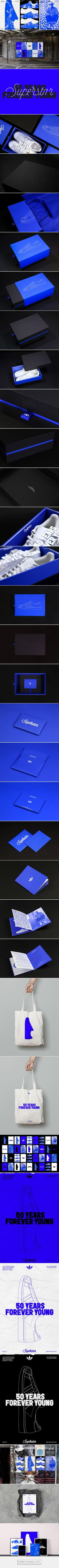 Adidas Superstar 50th Anniversary: Forever Young on Behance - created via https://pinthemall.net