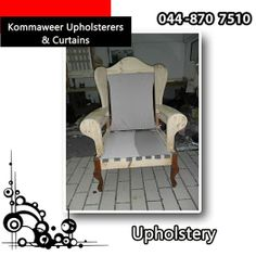 When it comes to upholstery Kommaweer Upholsterers & Curtains doesn't cut corners, we strip the set down to the last piece and rebuild it from the bare material. Making sure that when we are finished your furniture looks like brand new. #lifestyle #homedecor #homeimprovement