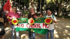 Hornasol Hornachuelos: HORNASOL EXIGIENDO EN MADRID EL CIERRE DEL CABRIL ...