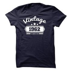 Vintage 1962 All Original Parts T Shirt, Hoodie, Sweatshirt