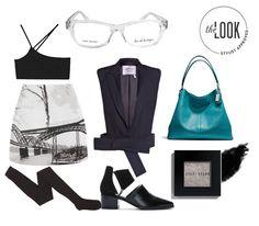 Derek Cardigan Glasses: Trendy Black
