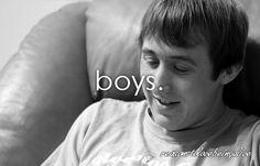 boys boys boys....
