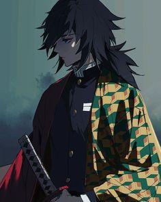 Demon Slayer, Slayer Anime, Otaku Anime, Anime Art, Estilo Anime, Fan Art, Hot Anime Guys, Anime Demon, Animes Wallpapers