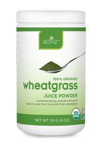 Activz    Organic Wheatgrass Juice Powder                , 114.0 Grams , Powder