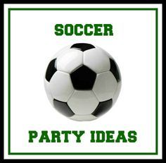 Fun ideas for hosting a soccer themed party -- games, decorations, invitations, food and more.
