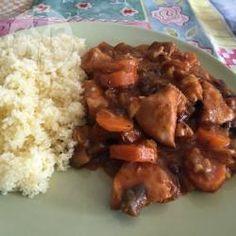 Foto recept: Marokkaanse kip uit de slowcooker