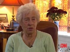 Auschwitz survivor Eva Schloss talks about her relationship with Anne Frank (Part 2)