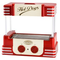 Nostalgia Retro Hot Dog Roller