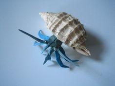 hermit small (origami)