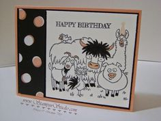 Stampin' Studio, Stampin' Up! From the Herd, Stacked with Love DSP
