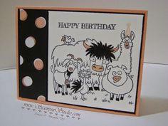 Stampin' Studio: Happy Birthday From the Herd