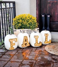 Pumpkin Decorating Ideas                                                       …