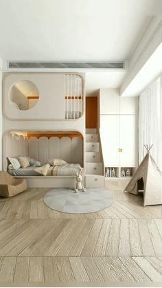 Small Room Design Bedroom, Small House Interior Design, Kids Bedroom Designs, Bedroom Furniture Design, Kids Room Design, Home Room Design, Bedroom Decor, Diy Furniture, Bedroom Ideas