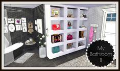 Sims 4 - Bathroom II - Dinha (With a CC List)