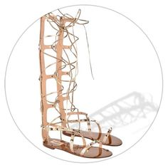 In LOVE with the new VALENTINO | Rockstud Gladiator Sandals