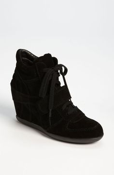 These sneakers are the bomb!! So comfortable. Looks more like a wedge than a sneaker..so cute!