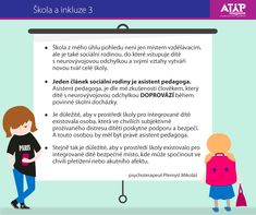 škola, inkluze, school, education, child with ADHD or autism, ASD, asistent pedagoga