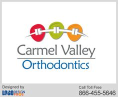 Logo design Pros designed a remarkable logo for Carmel Valley Orthodontics