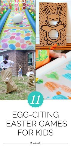 Fun Easter games for kids that will keep them busy after the egg hunt is over.